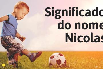 foto escrita significado do nome Nicolas