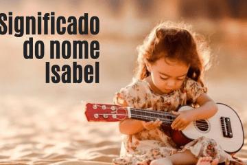 foto escrita significado do nome Isabel