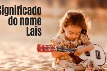 foto escrita significado do nome Laís