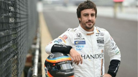 foto do piloto Fernando Alonso