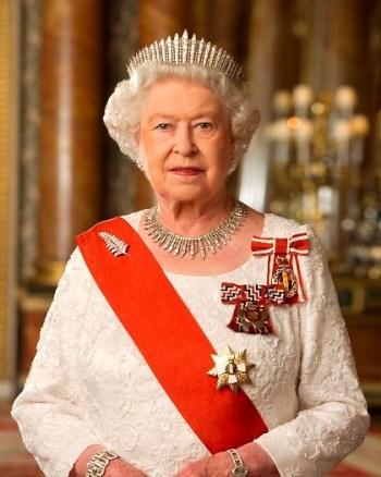 foto da rainha Elizabeth II