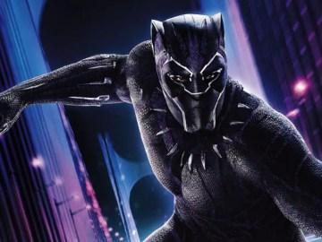 imagem da pantera negra no filme