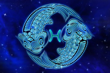 imagem representando o signo de quem nasce em março - peixes