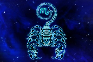 simbolo do signo de escorpiao
