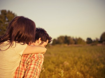 casal de namorados felizes