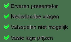 Unieke punten Quizzing.nl