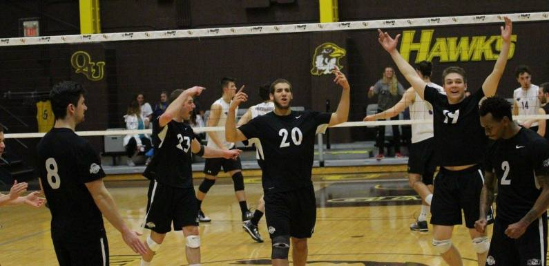 Huge Weekend Approaches for QU Men's Volleyball!