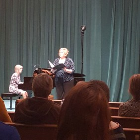 Laura Kammerer-Piano, Amy Stollberg-Singer
