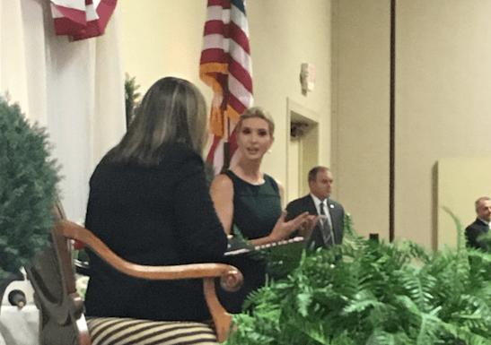 Coffee And Conversation With Ivanka Trump
