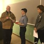 Grivetti, Argana and Senate Members Officially Sworn In