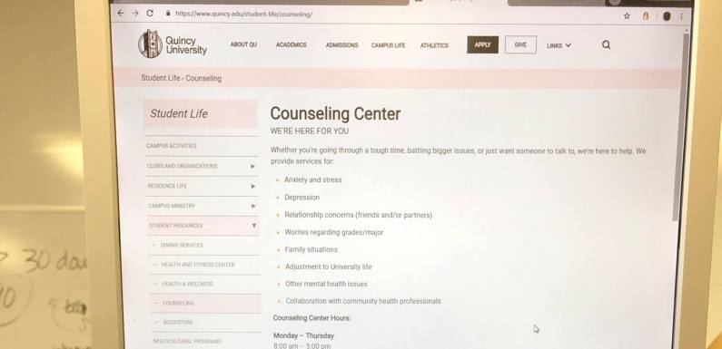QU Counseling Center provides outlet for students
