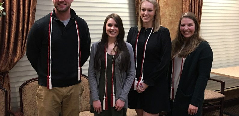 Honor Society inducts new members