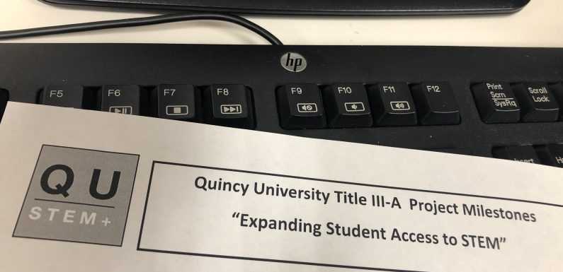 QU receives grant that will fund new STEM majors on campus