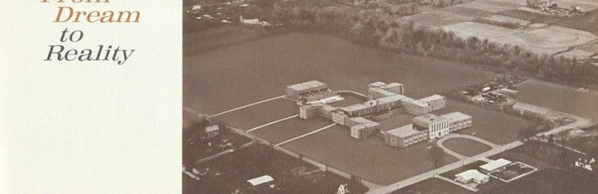 Ariel view of North Campus in 1964