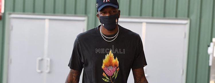 Torrey Craig Wears Mechali clothing
