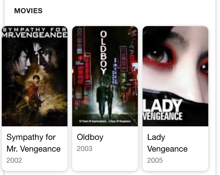 韓電影 復仇三部曲之二 Old Boy 《原罪犯》 – 越過底線和對錯的升華復仇   Ms' QuNiKi