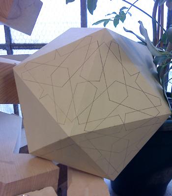 An icosahedron!