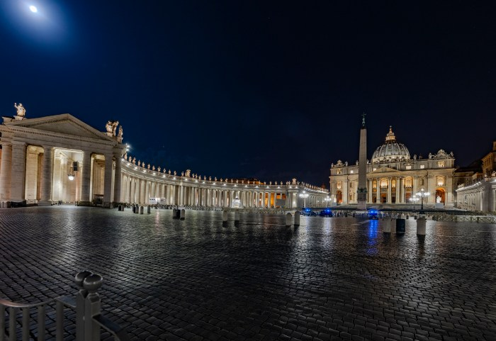 QuodLibet bed and breakfast is just by the Vatican and St. Peter's Square
