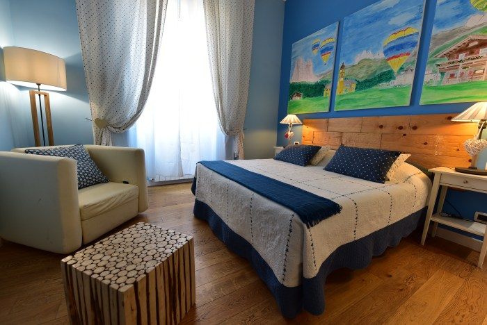 Ladina room at QuodLibet bed and breakfast Roma