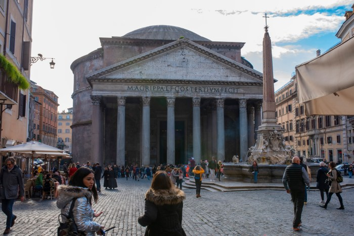 pantheon from Rome quodlibet bed and breakfast