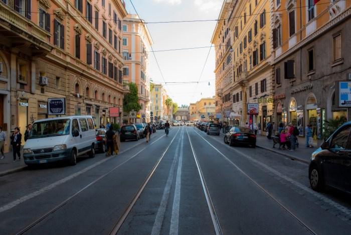 Via Ottaviano Rome