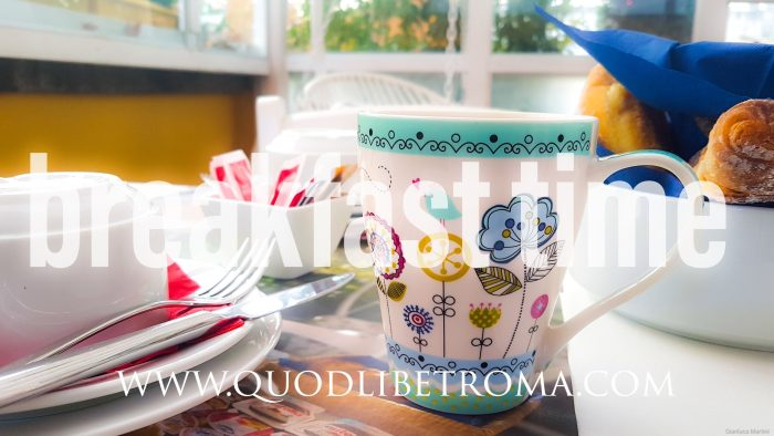 breakfast at QuodLibet bed and breakfast in Rome