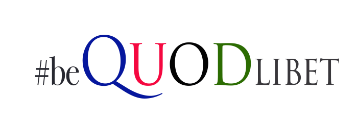 the meaning of QuodLibet #bequodlibet