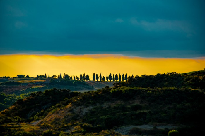 Val d'Orcia from Rome