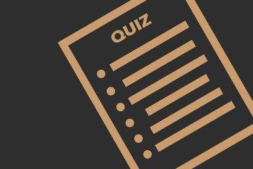 тест, quiz