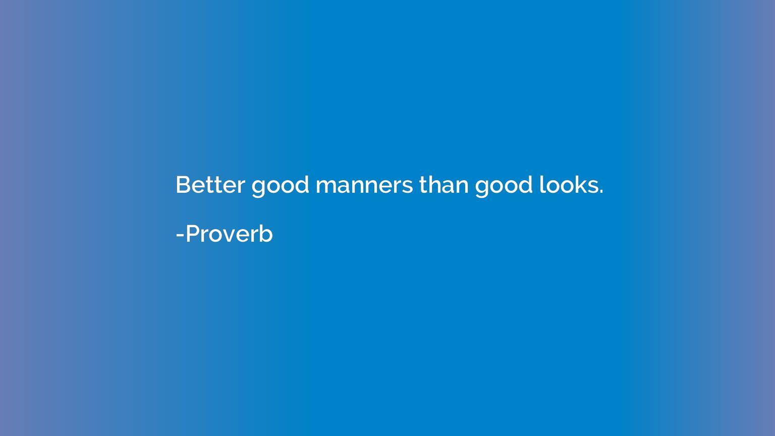 Good Looks Quotes