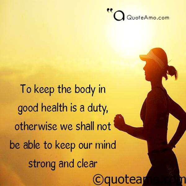 quote about health