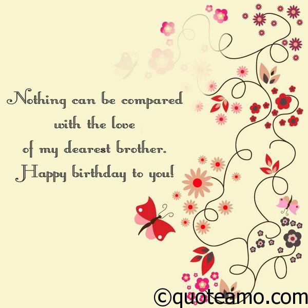 Happy birthday brother wishes quote amo happy birthday brother voltagebd Gallery