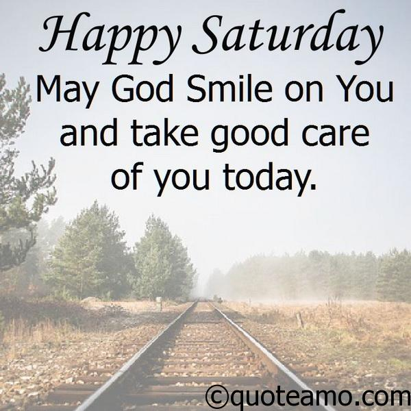 Happy Saturday! - Quote Amo
