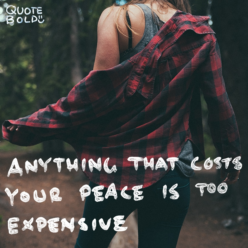 peace mind quotes cost