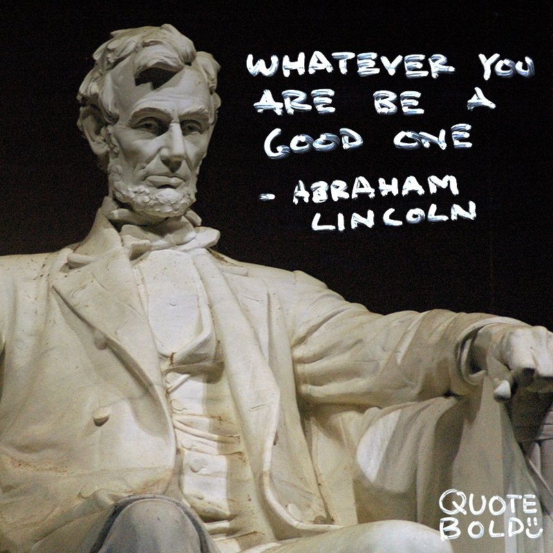 tuesday motivational quote lincoln