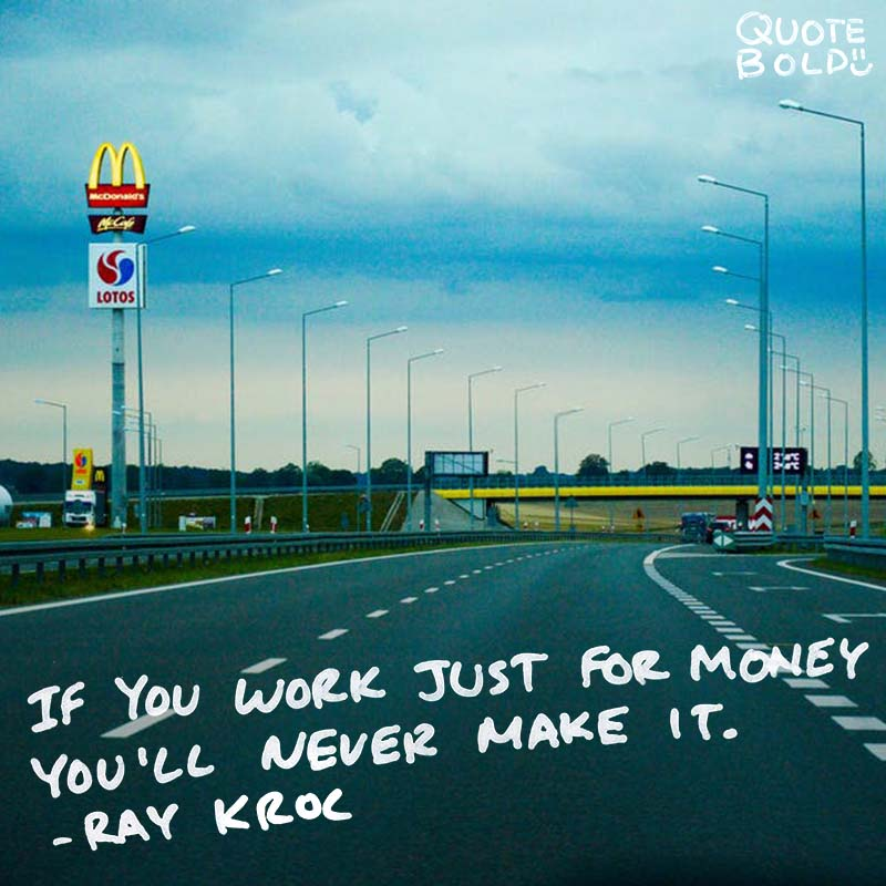 business owner quotes - Ray Kroc