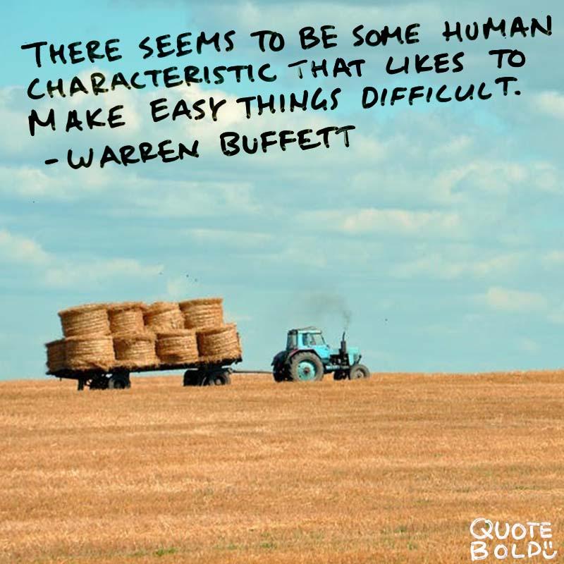 business owner quotes -Warren Buffett