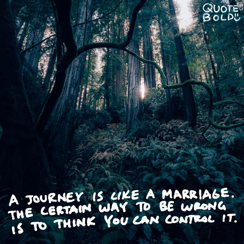 happy journey quotes - John Steinbeck