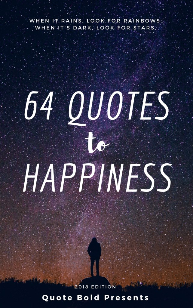 64 quotes to happiness cover