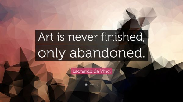 20 Leonardo Da Vinci Quotes About Art Pictures And Ideas On Meta
