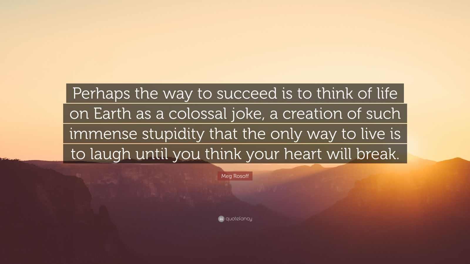 "Meg Rosoff Quote: ""Perhaps The Way To Succeed Is To Think"