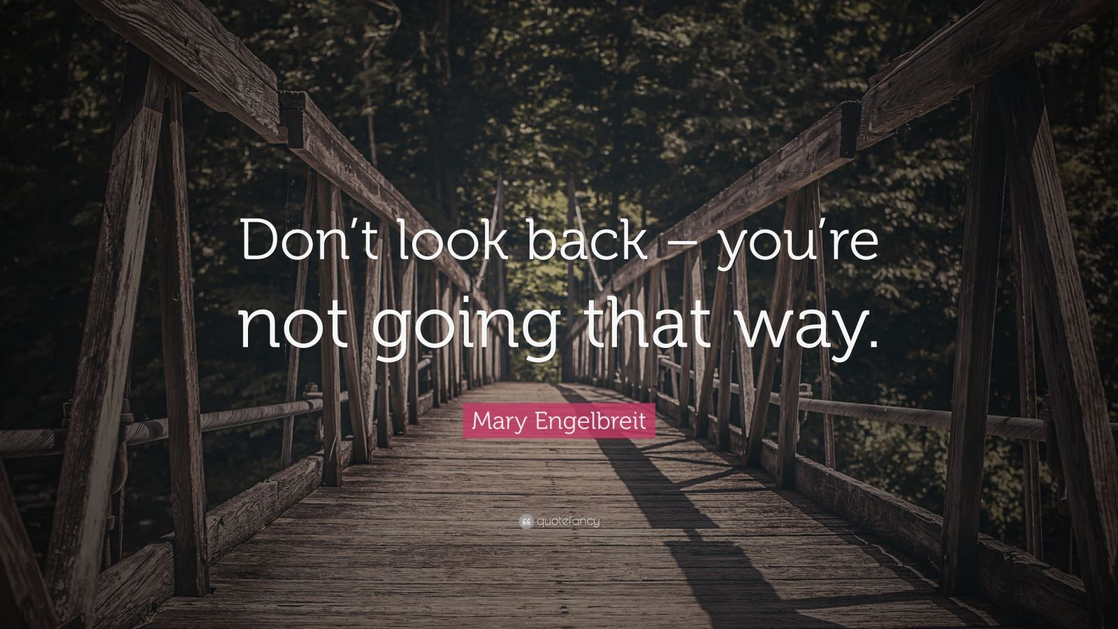 Mary Engelbreit Quote Don T Look Back You Re Not Going That Way 12 Wallpapers