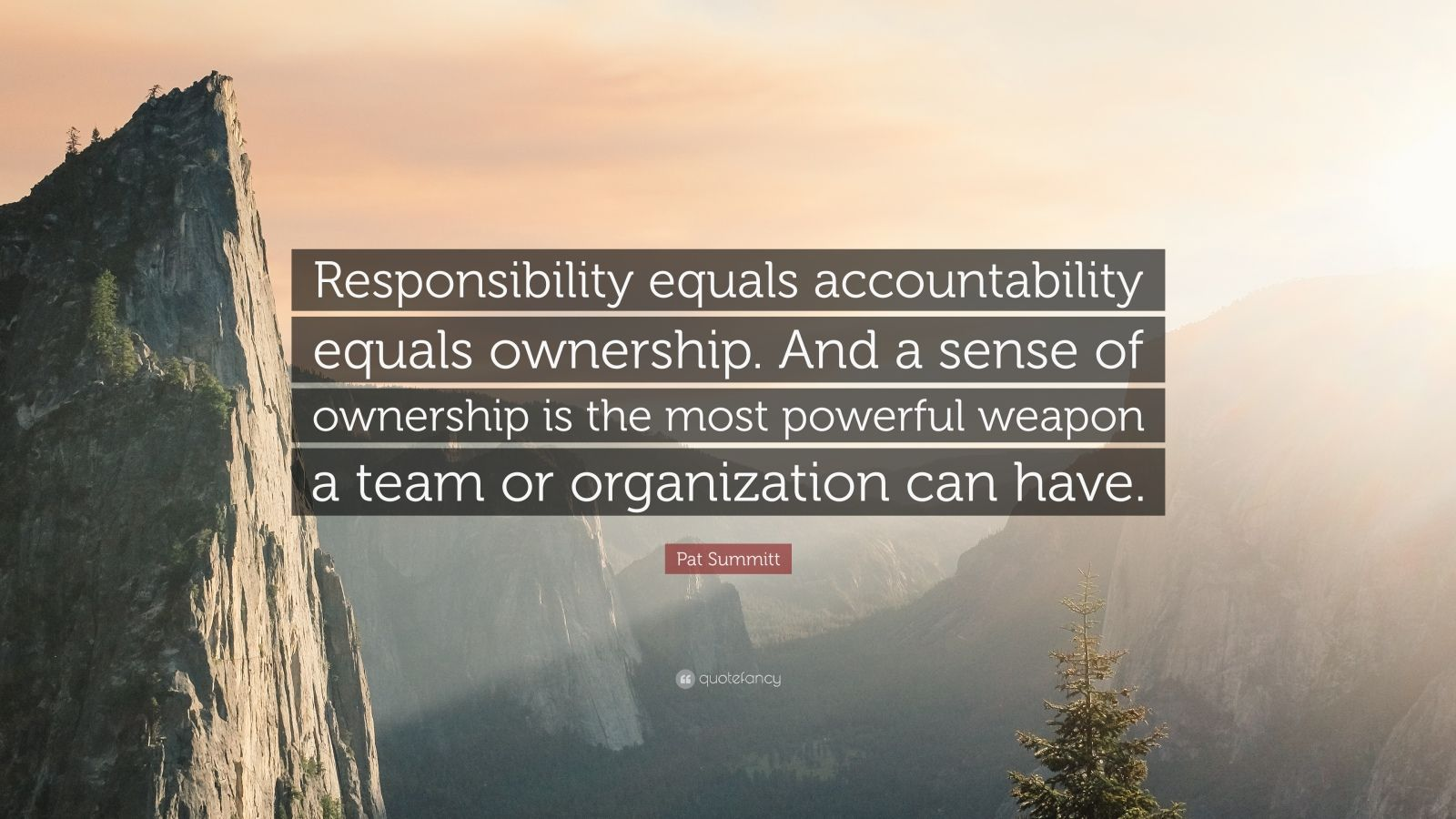 Business Success Quotes Wallpaper Pat Summitt Quote Responsibility Equals Accountability