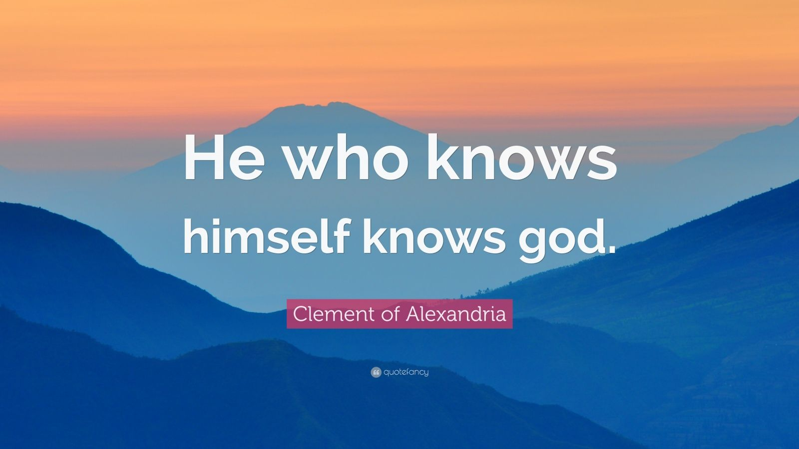 Steve Jobs Wallpaper Quotes Clement Of Alexandria Quote He Who Knows Himself Knows