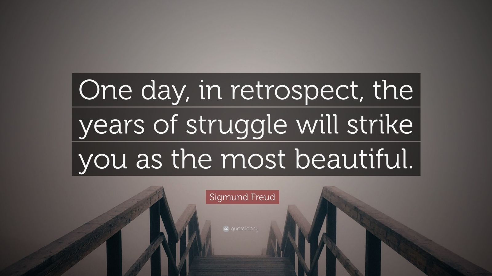 Wallpapers With Quotes On Loneliness Sigmund Freud Quote One Day In Retrospect The Years Of