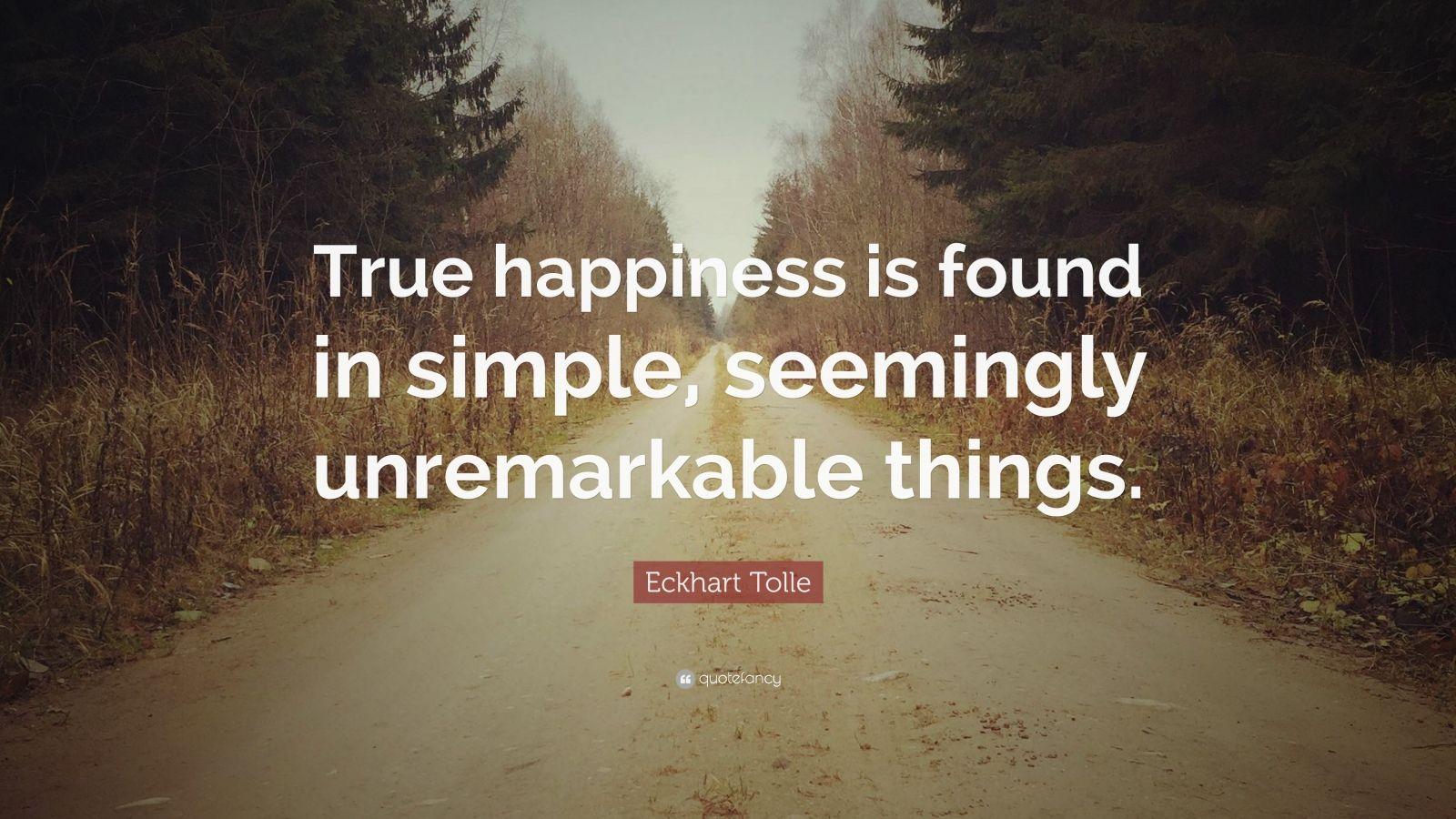 Mother Teresa Quotes Wallpapers Eckhart Tolle Quote True Happiness Is Found In Simple