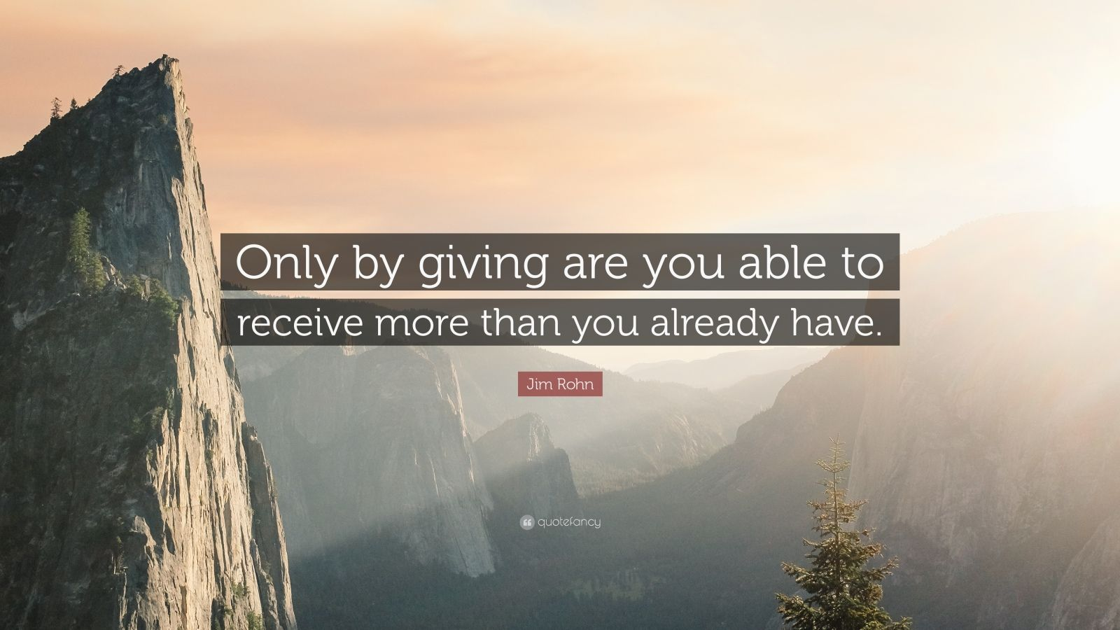Weekend Wallpapers With Quotes Jim Rohn Quote Only By Giving Are You Able To Receive