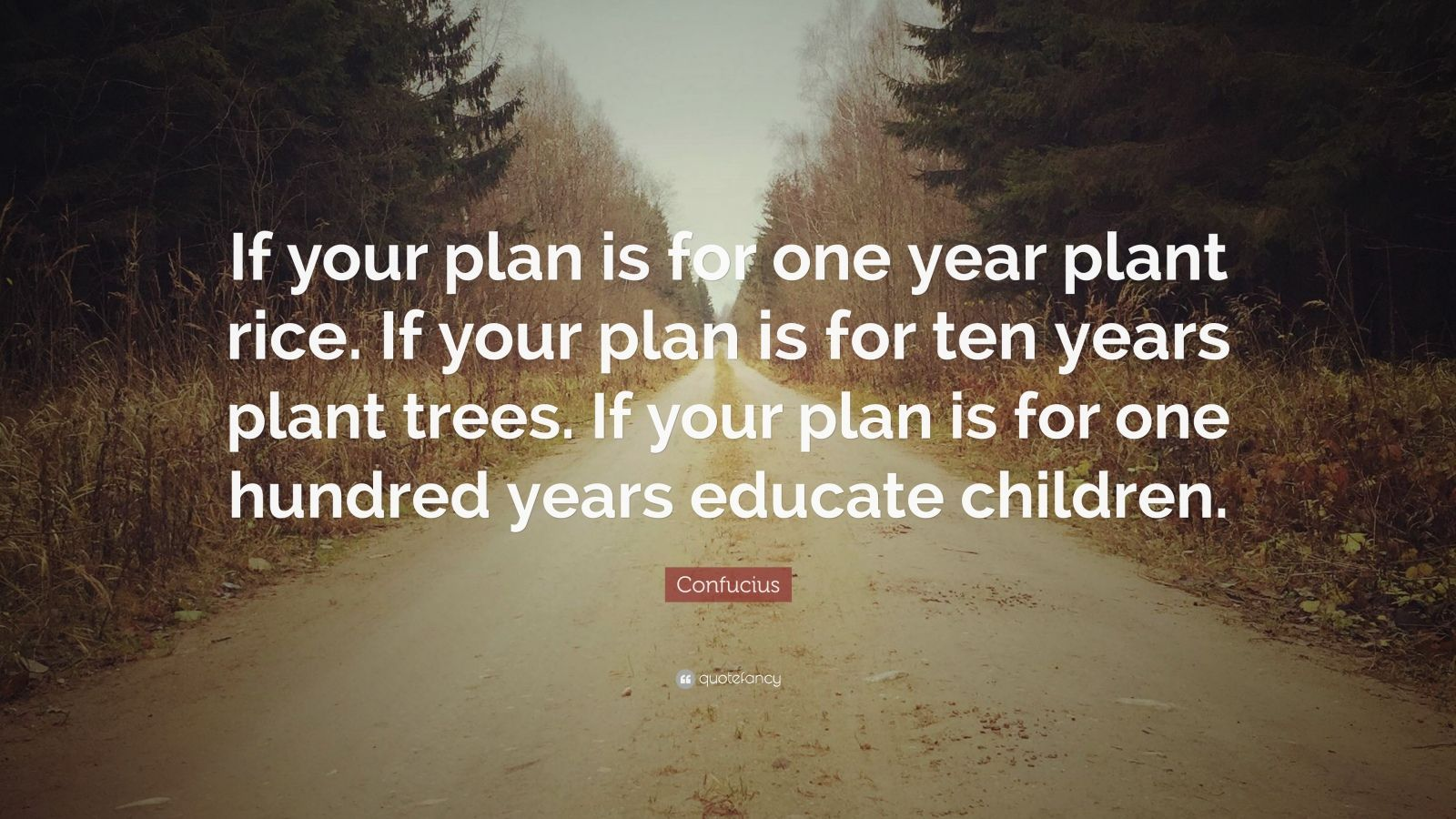 John Lennon Quotes Wallpaper Confucius Quote If Your Plan Is For One Year Plant Rice