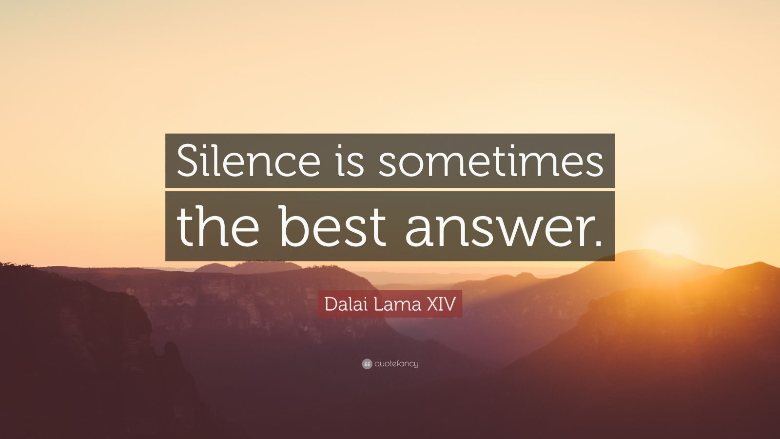 Socrates Wallpaper Quotes Dalai Lama Xiv Quote Silence Is Sometimes The Best