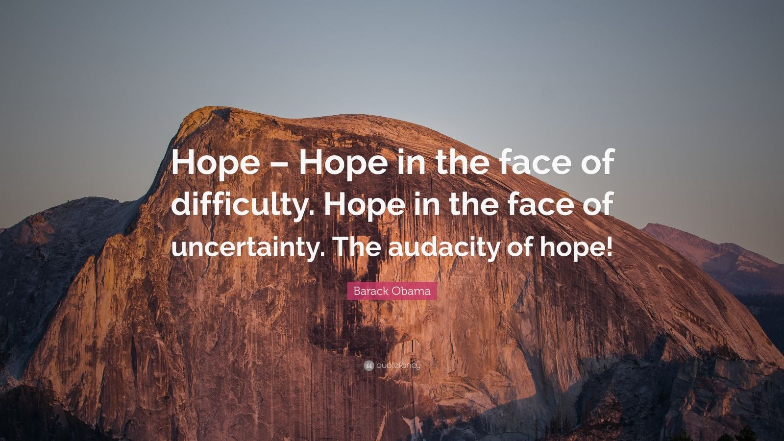 Hope Wallpapers With Quotes Barack Obama Quote Hope Hope In The Face Of Difficulty